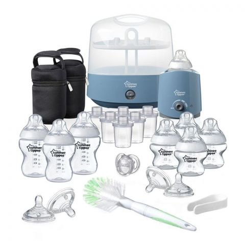 Tommee Tippee Complete Feeding Set (Blue) - 423583