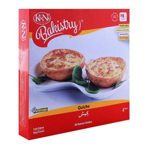 K&N's Bakistry Chicken Quiche, 4-Pack