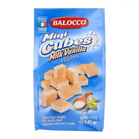 Balocco Wafers Latte Milk 125gm