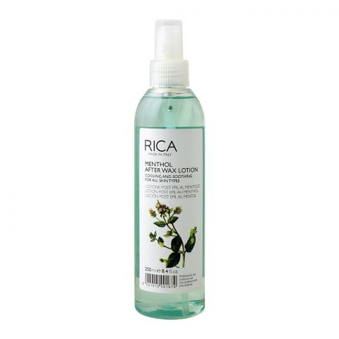 RICA Menthol After Wax Lotion, All Skin Types, 250ml