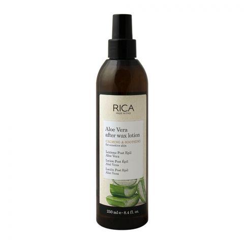 RICA Aloe Vera Oil After Wax Lotion, 250ml