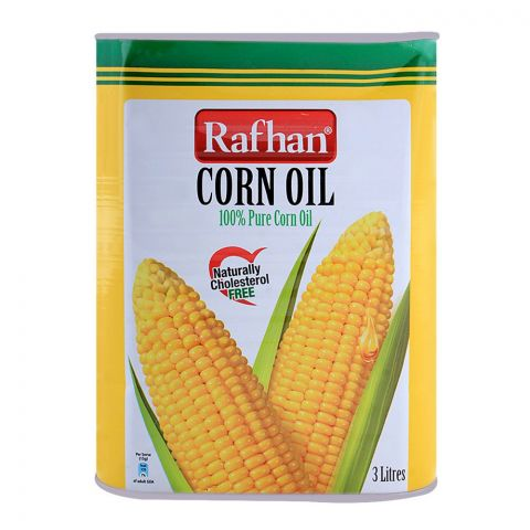 Rafhan Corn Oil 3 Litres Tin
