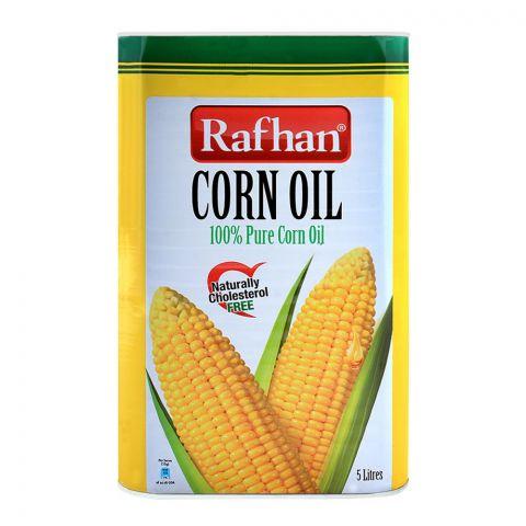 Rafhan Corn Oil 5 Litres Tin