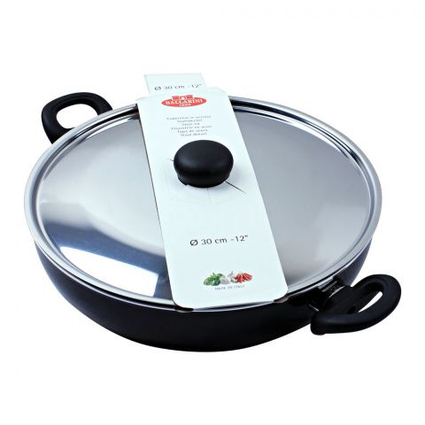 Ballarini Non-Stick Karahi Pan, 30cm, 12 Inches