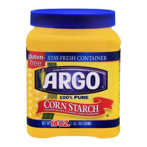 Argo Corn Starch, 100% Pure, Gluten Free, 454g
