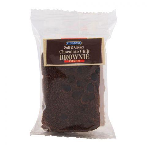 Euro Chocolate Chip Brownie 40gm