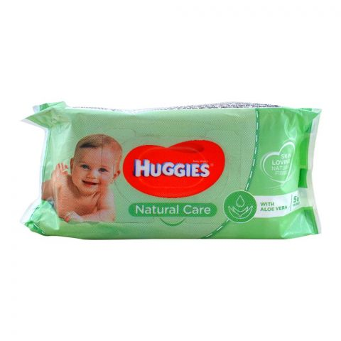Huggies Natural Care Baby Wipes 56-Pack