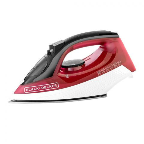 Black & Decker Anti Drip Steam Iron, 1600 Watts, X1550