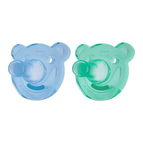Avent Soothie Soothers 2-Pack 0-6m - SCF194/03
