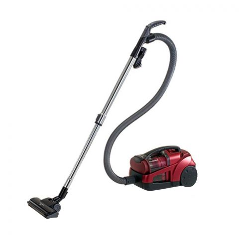 Panasonic Vacuum Cleaner Bagless, MC-CL563, Red