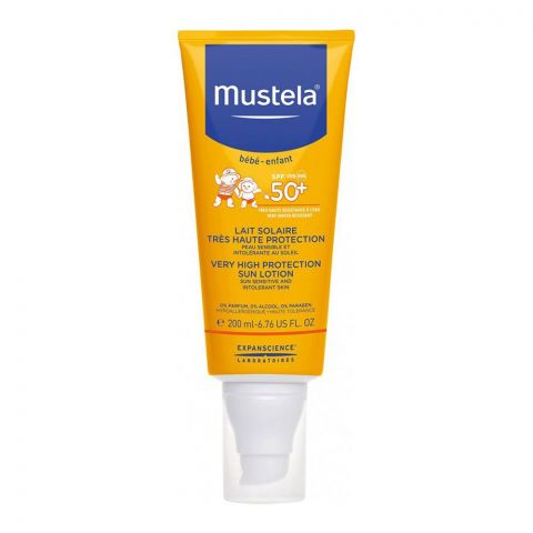 Mustela Baby Very High Protection Sun Lotion SPF 50+ 200ml