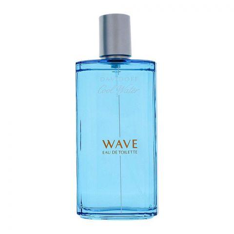 Davidoff Cool Water Wave Eau De Toilette, Fragrance For Men, 125ml
