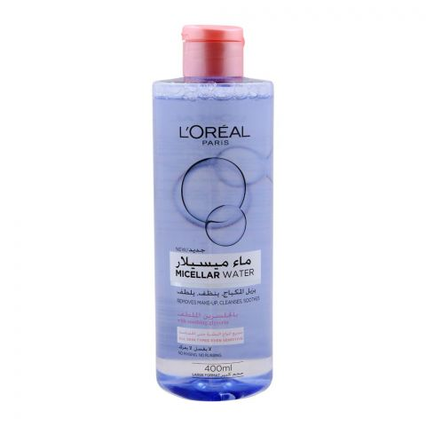 L'Oreal Paris Micellar Water, For All Skin Types, 400ml