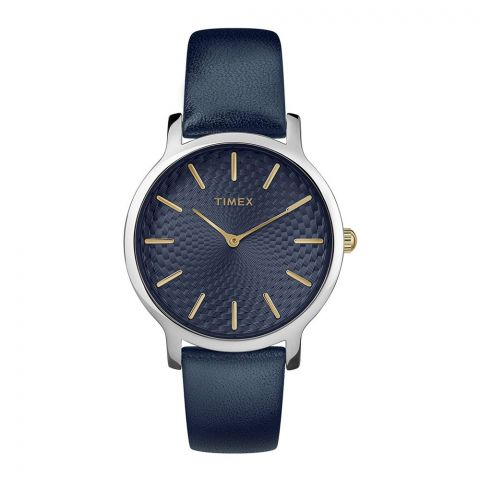 Timex Women's Skyline Blue Dial Watch - TW2R36300
