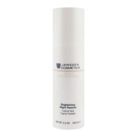 Janssen Cosmetics Fair Skin Brightening Night Restore Cream 150ml