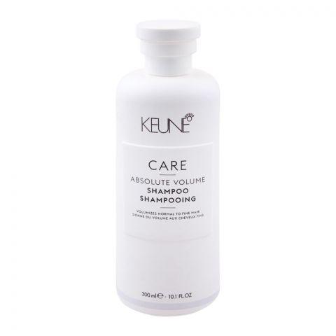 Keune Care Absolute Volume Shampoo, Normal to Fine Hair, 300ml