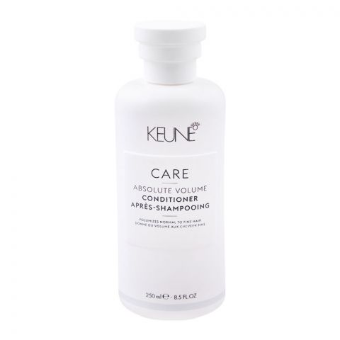Keune Care Absolute Volume Conditioner, Normal to Fine Hair, 250ml