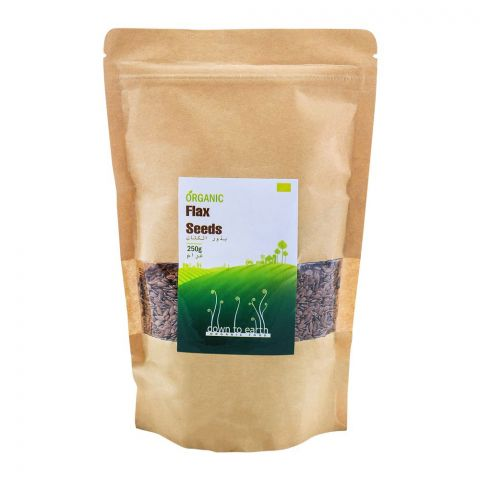 Down To Earth Flax Seeds 250gm