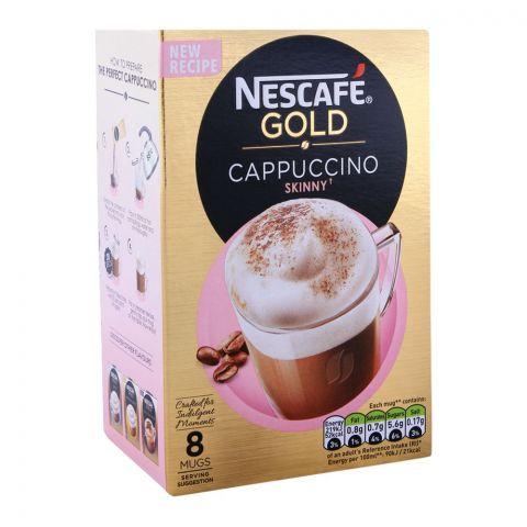 Nescafe Gold Cappuccino Skinny Coffee 8x14.5g