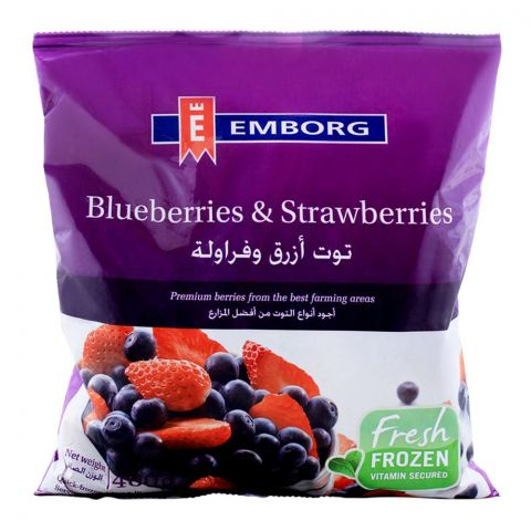 Emborg Frozen Blueberries & Strawberries 400g
