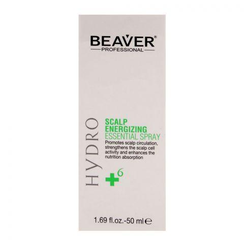 Beaver Professional Hydro Scalp Energizing Essential Spray 50ml