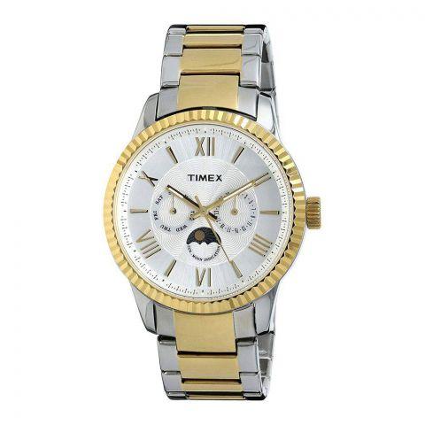 Timex Analog Silver Dial Men's Watch - TWEG15108
