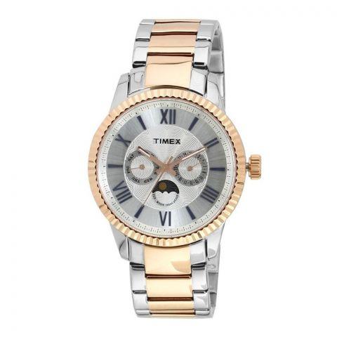 Timex Analog Silver Dial Men's Watch - TWEG15109