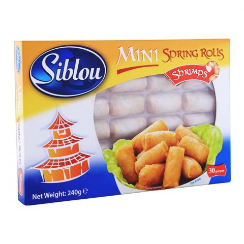 Siblou Mini Spring Rolls Shrimps 240g