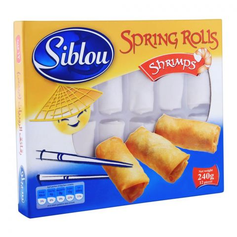Siblou Spring Rolls Shrimps 240g