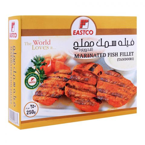 Eastco Marinated Fish Fillet Tandoori, 250g