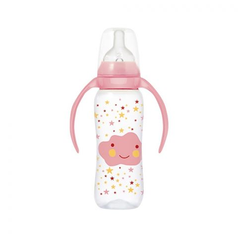Tigex Feeding Bottle, Pink, 240ml, 121459