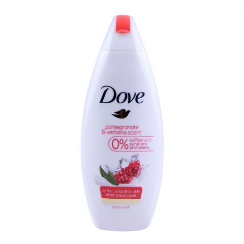 Dove Pomegranate & Verbena Scent Body Wash 250ml
