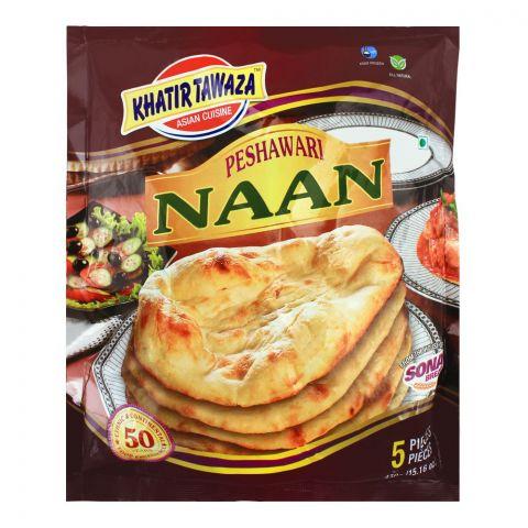 Khatir Tawaza Frozen Peshawari Naan, 5-Pack