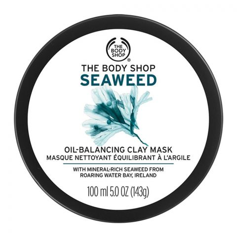 The Body Shop Seaweed Oil Balancing Clay Mask, 100ml