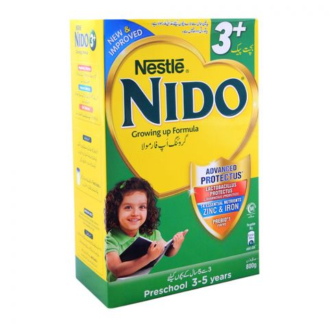 Nestle Nido 3+, Growing-Up Formula, 800g Economy Pack