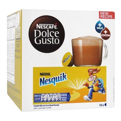 Nescafe Dolce Gusto Nesquick Cocoa Milk, 16 Single Serve Pods