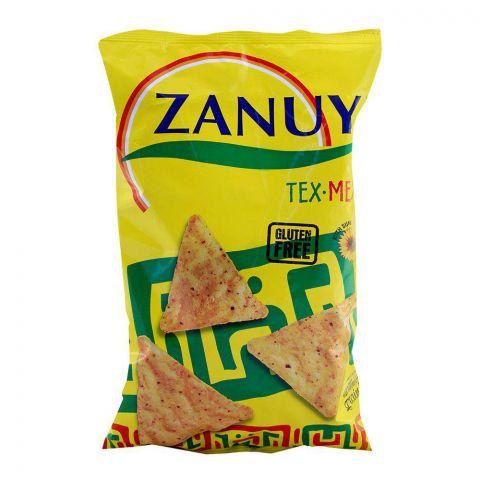 Zanuy Nachos Tortilla Chips, Tex Mex Flavor, Gluten Free, 200g