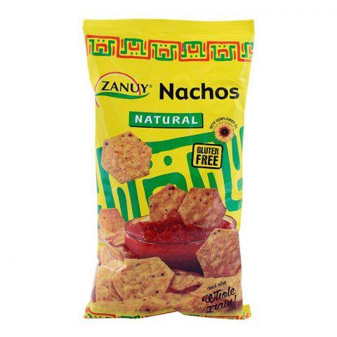 Zanuy Nachos Tortilla Chips, Natural, Gluten Free, 200g