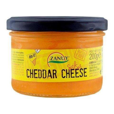 Zanuy Cheddar Cheese Salsa Dip, Gluten Free, 200g
