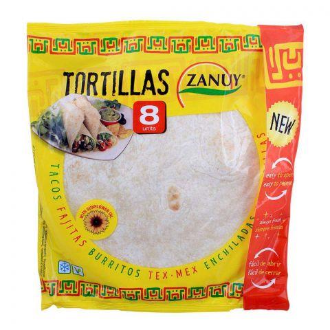 Zanuy Wraps Tortillas 8-Pack