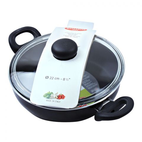 Ballarini Non-Stick Karahi Pan, 22cm, 8.5 Inches