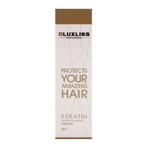 Luxliss Professional Keratin Protein Repairing Shine Mist 50ml
