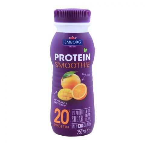 Emborg Protein Smoothie Orange & Mango 250ml