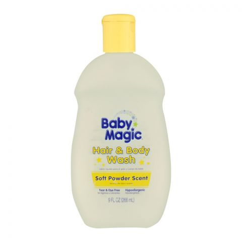 Baby Magic Hair & Body Wash, Soft Powder Scent, 266ml