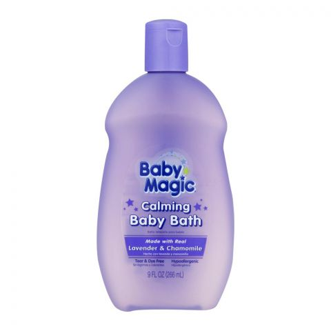 Baby Magic Calming Baby Bath, Lavender & Camomile, 266ml