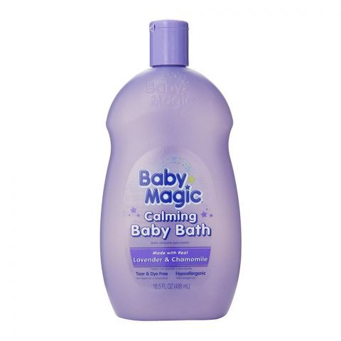 Baby Magic Calming Baby Bath, Lavender & Camomile, 488ml
