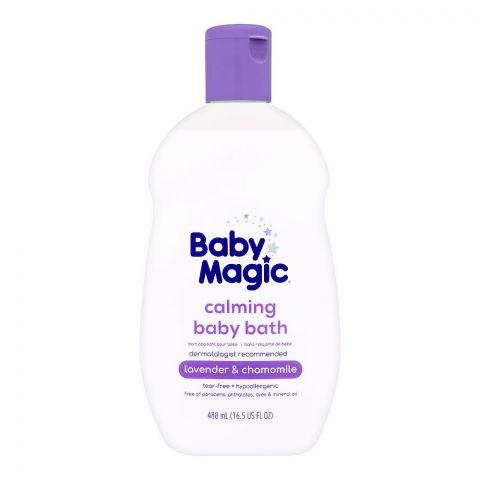 Baby Magic Calming Baby Bath, Lavender & Camomile, 488ml