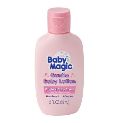 Baby Magic Gentle Baby Lotion, Original Baby Scent, 59ml