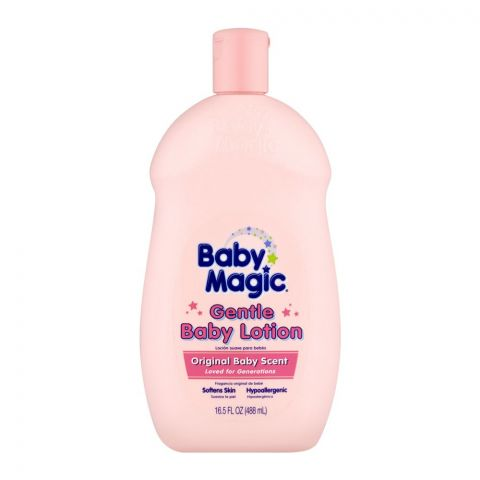 Baby Magic Baby Lotion, Original Baby Scent Gentle, 488ml