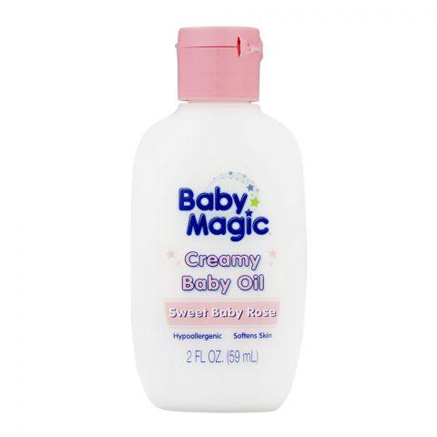 Baby Magic Sweet Rose Creamy Baby Oil 59ml